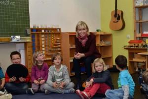 Doris Schröder-Köpf in Montessori Grundschule Hannover