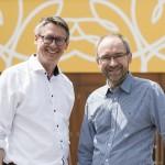 Geschäftsführer Alexander Delport (päd.) und Michael Brigant (kaufm.)