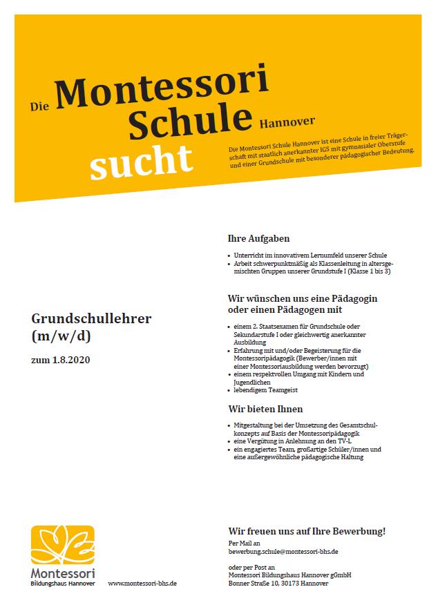 Grundschullehrer (m/w/d)